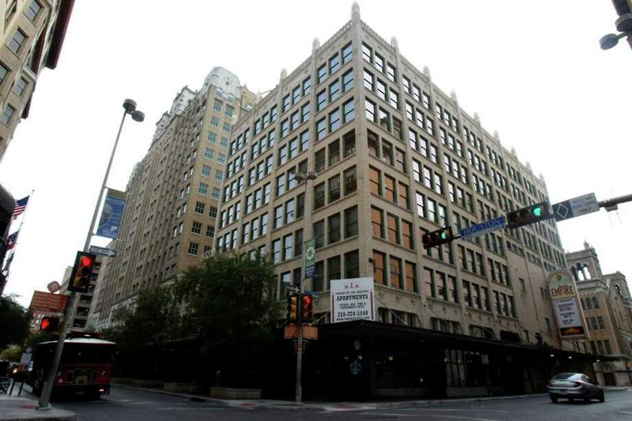 The Brady Building, opened as an eight-story office building in 1914 and has been converted into apartments. Commercial tenants were lawyers. Photo: San Antonio Express-News File Photo
