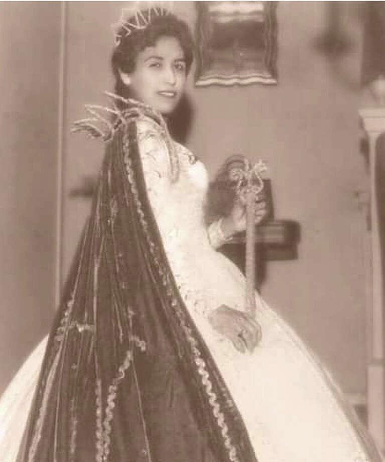 Paula Mendez Boyd was named Cotulla High School Band Sweetheart in 1960. Photo: Courtesy