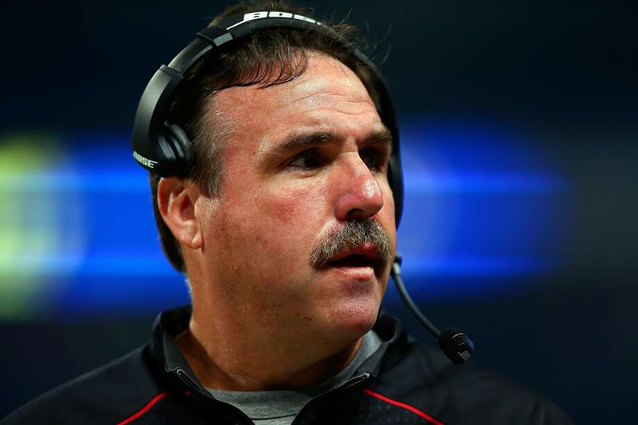 San Francisco 49ers head coach Jim Tomsula watches from the sideline in the first quarter  against the St. Louis Rams at the Edward Jones Dome on Sunday, Nov. 1, 2015, in St. Louis. Photo: Dilip Vishwanat, Getty Images