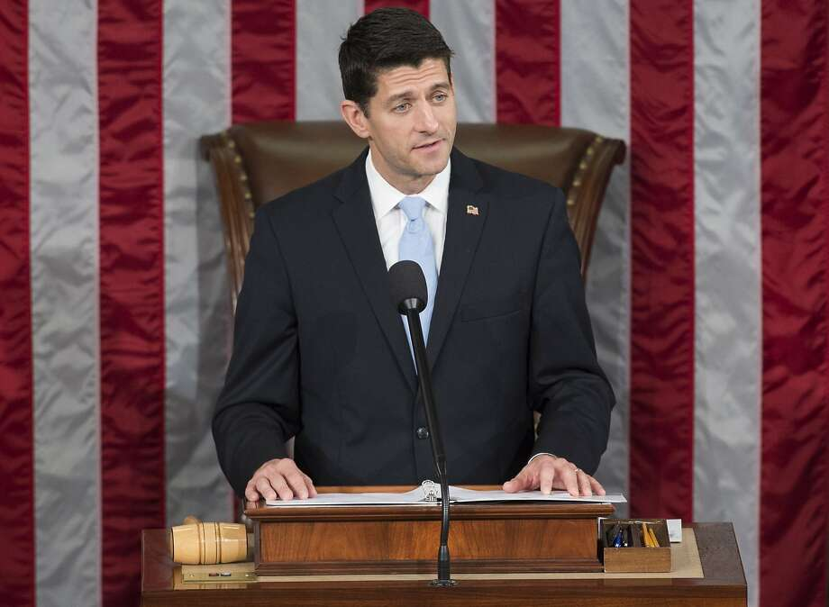 "House Speaker Paul Ryan says Obama is a ""president we simply cannot trust on this issue."" Photo: Saul Loeb, AFP / Getty Images"