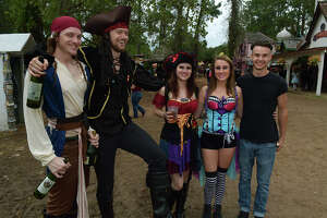 Rain couldn't stop Renaissance Festival lords and ladies from having fun - Photo