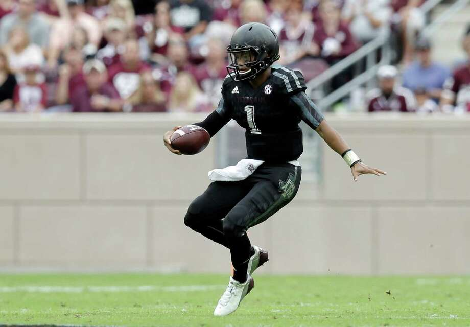HIGHS Around the area:Texas A&M coach Kevin Sumlin turned to freshman quarterback Kyler Murray to try and snap a two-game losing streak, and Murray responded in a big way with 156 rushing yards and 223 passing yards in the Aggies' 35-28 victory over South Carolina. Murray is the son of former A&M standout quarterback Kevin Murray – now the son has his own prized Kyle Field memories. Photo: Eric Gay, Associated Press / AP