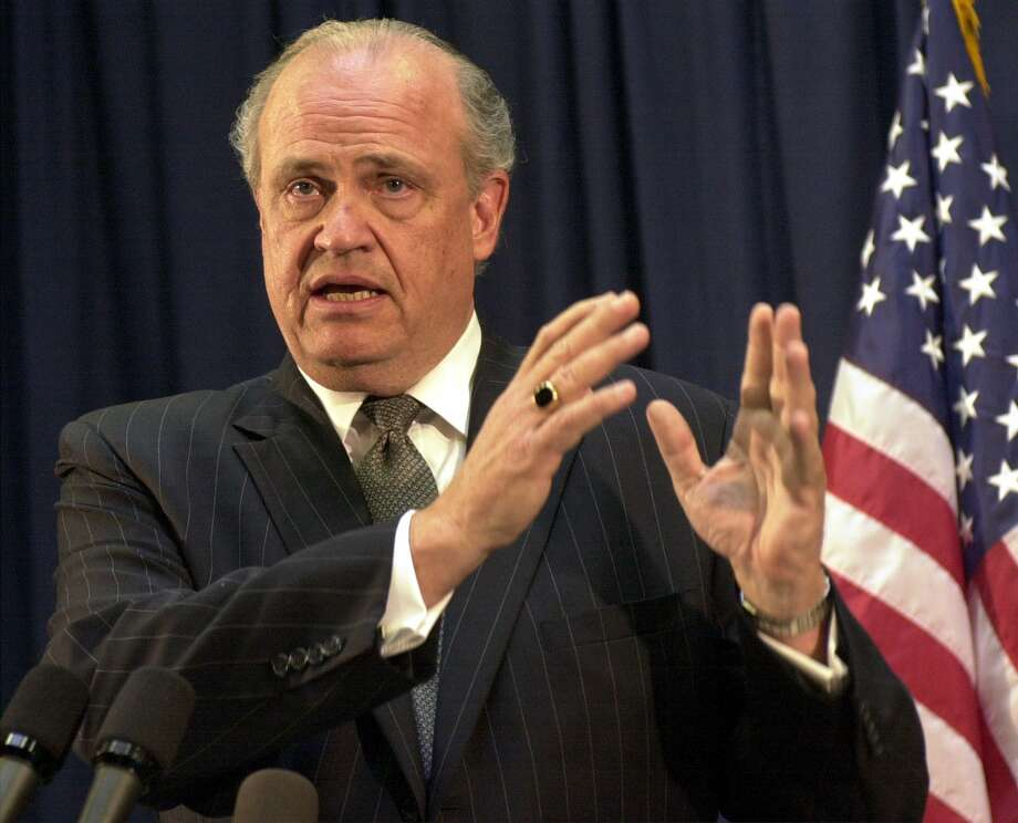 Ex-Sen. Fred Thompson also was known for his reverse mortgate ads. Photo: JEFF KOWALSKY / / AFP