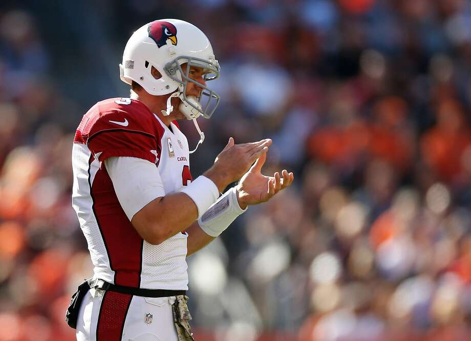 Carson Palmer's three second-half touchdowns got the Cardinals going. Photo: Gregory Shamus, Getty Images