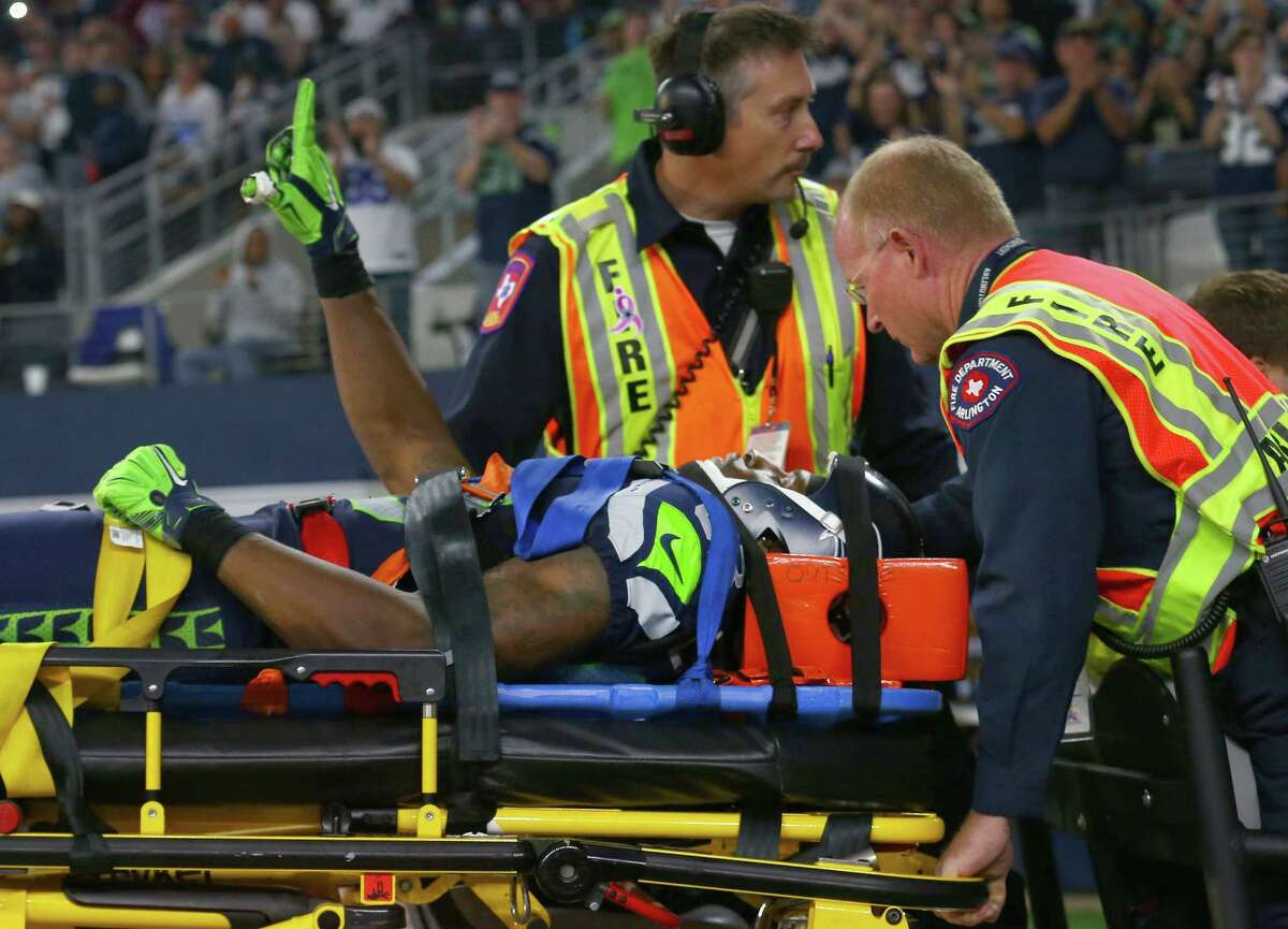 2. WR Ricardo Lockette is doing OK When Seahawks wide receiver Ricardo Lockette was hit with a vicious block from Cowboys safety Jeff Heath late in the first half, it marked one of the scariest moments of the season. Lockette crumpled to the ground and lay motionless while coaches and teammates huddled around. He was eventually carted off and raised both his hands to make the Legion of Boom sign.After the game, Carroll said Lockette will stay over night and not travel with the team back to Seattle immediately.