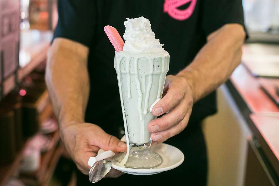 It's Tops Coffee Shop serves classic diner food, including milkshakes. Photo: Jen Fedrizzi, Special To The Chronicle