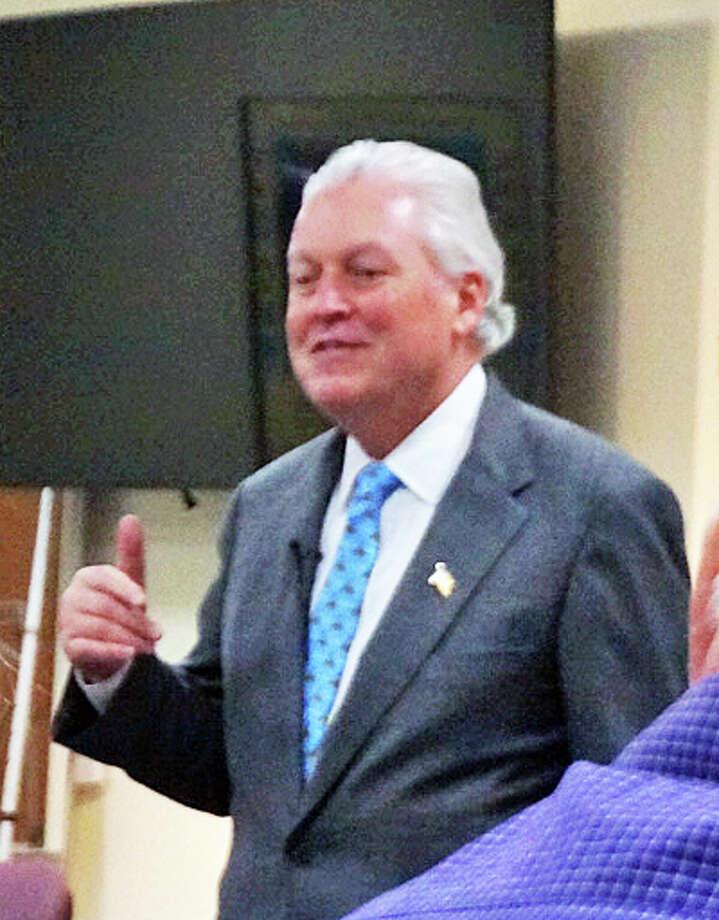 First Selectman Mike Tetreau is seeking re-election to a second term. Photo: Genevieve Reilly / Fairfield Citizen / Fairfield Citizen