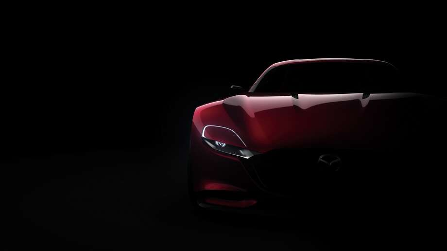 Mazda unveiled the RX-Vision concept car at the Tokyo Motor Show.Source: Mazda