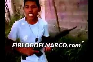 Video: Teenage cartel assassins brandish weapons - Photo