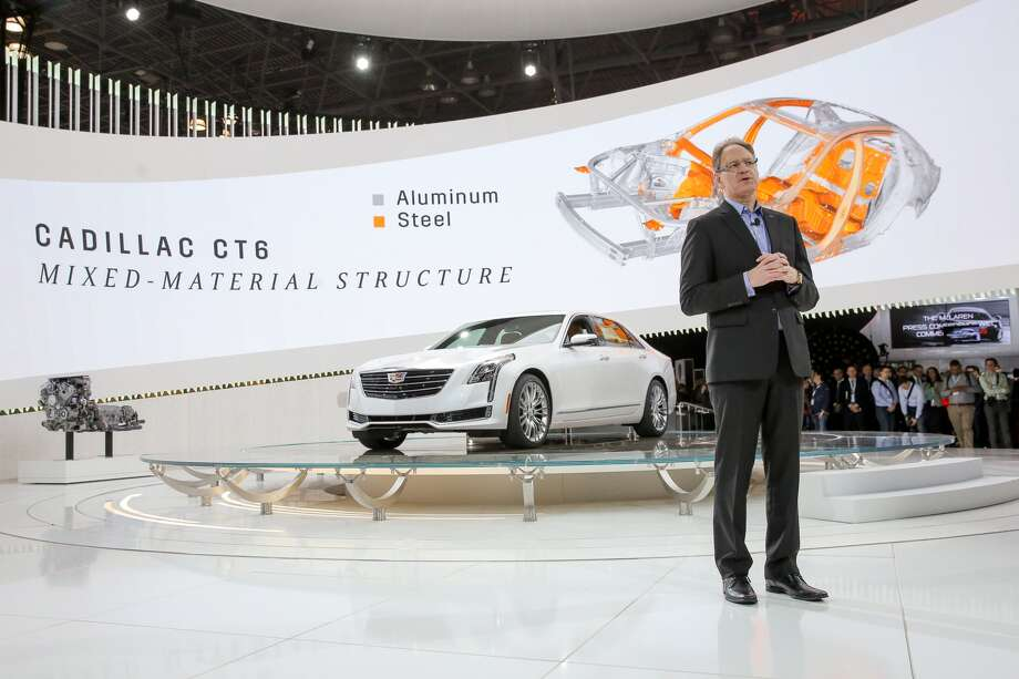 The 2016 Cadillac CT6 is set to debut in March.Source: Cadillac Photo: Cadillac