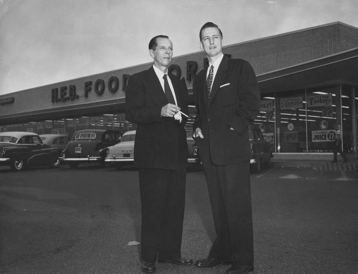 1920s - Florence's youngest son, Howard E. Butt (right) takes over the business and expands the Butt Grocery Company into Del Rio and Laredo.