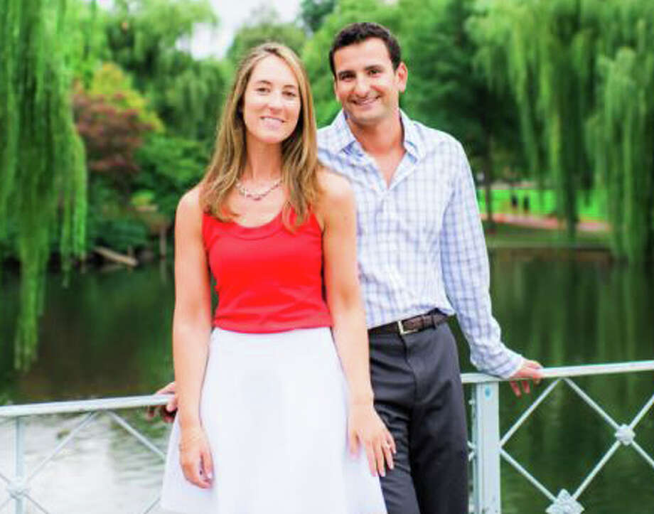 Erin Michelle Devaney is engaged to marry Dave Weinberger. Photo: Contributed Photo / Fairfield Citizen