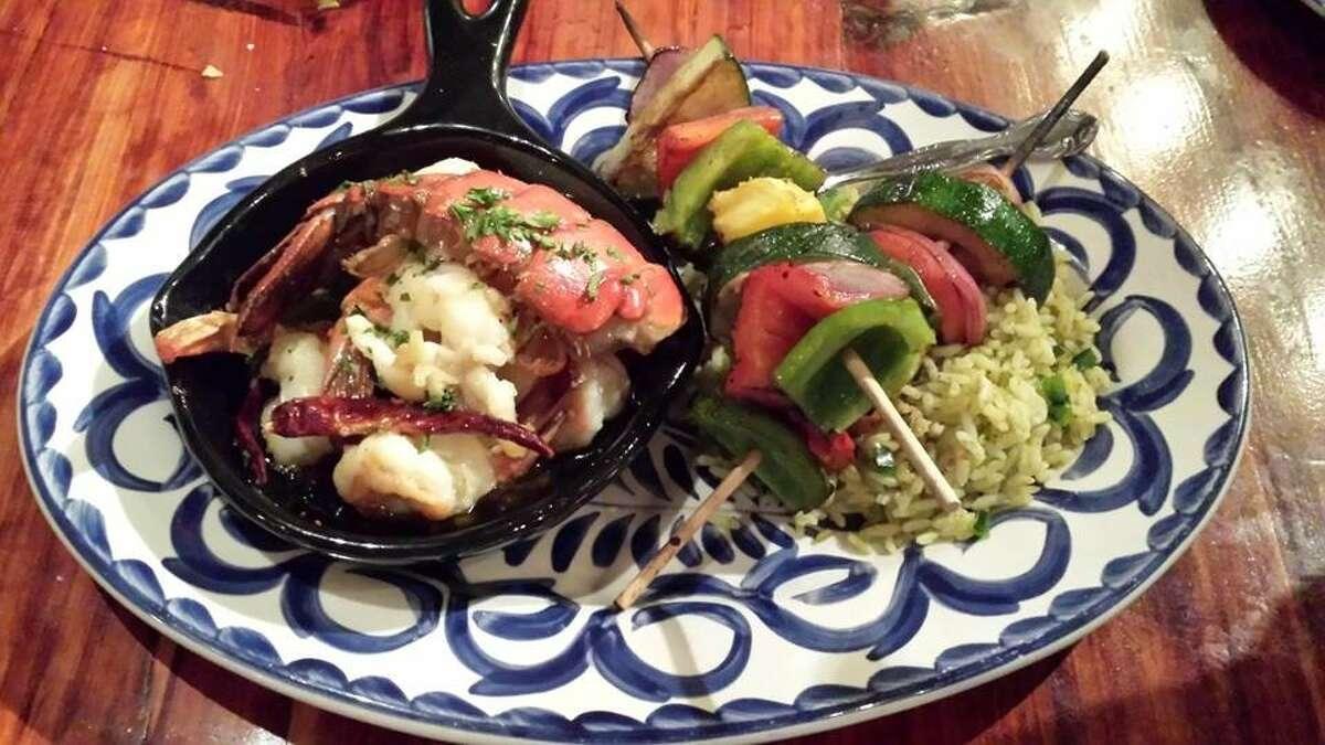 A dish at Skinny Rita's Grille, 4002 N. Main, Houston. Skinny Rita's Grille will open a second location in December 2015 at 607 W. Gray.