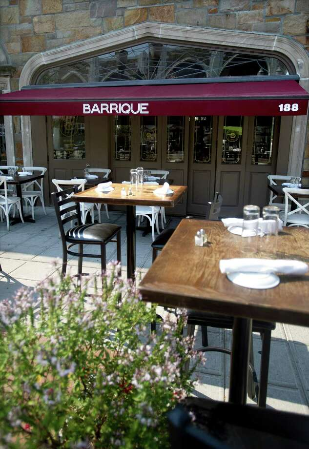 Barrique Bistro and Wine Bar at 188 Bedford St. Photo: Lindsay Perry / Lindsay Perry / Stamford Advocate