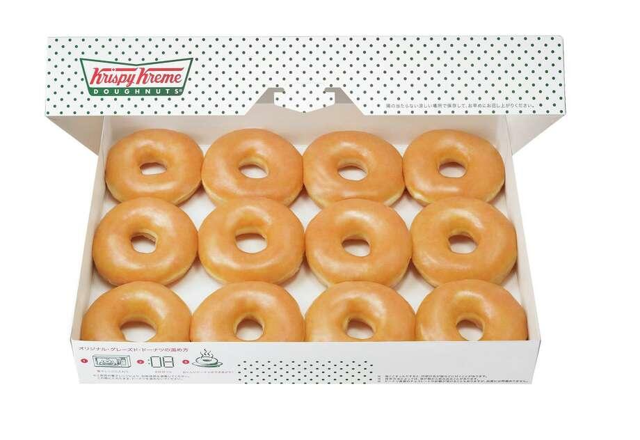 Krispy Kreme Glazed Dozen Photo: Krispy Kreme