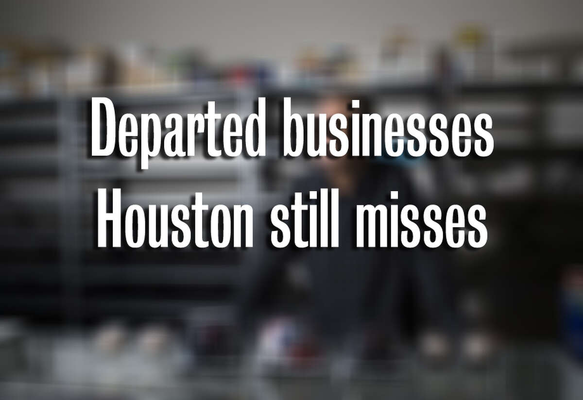 Some of these businesses served generations of Houston customers, but now they are no more.
