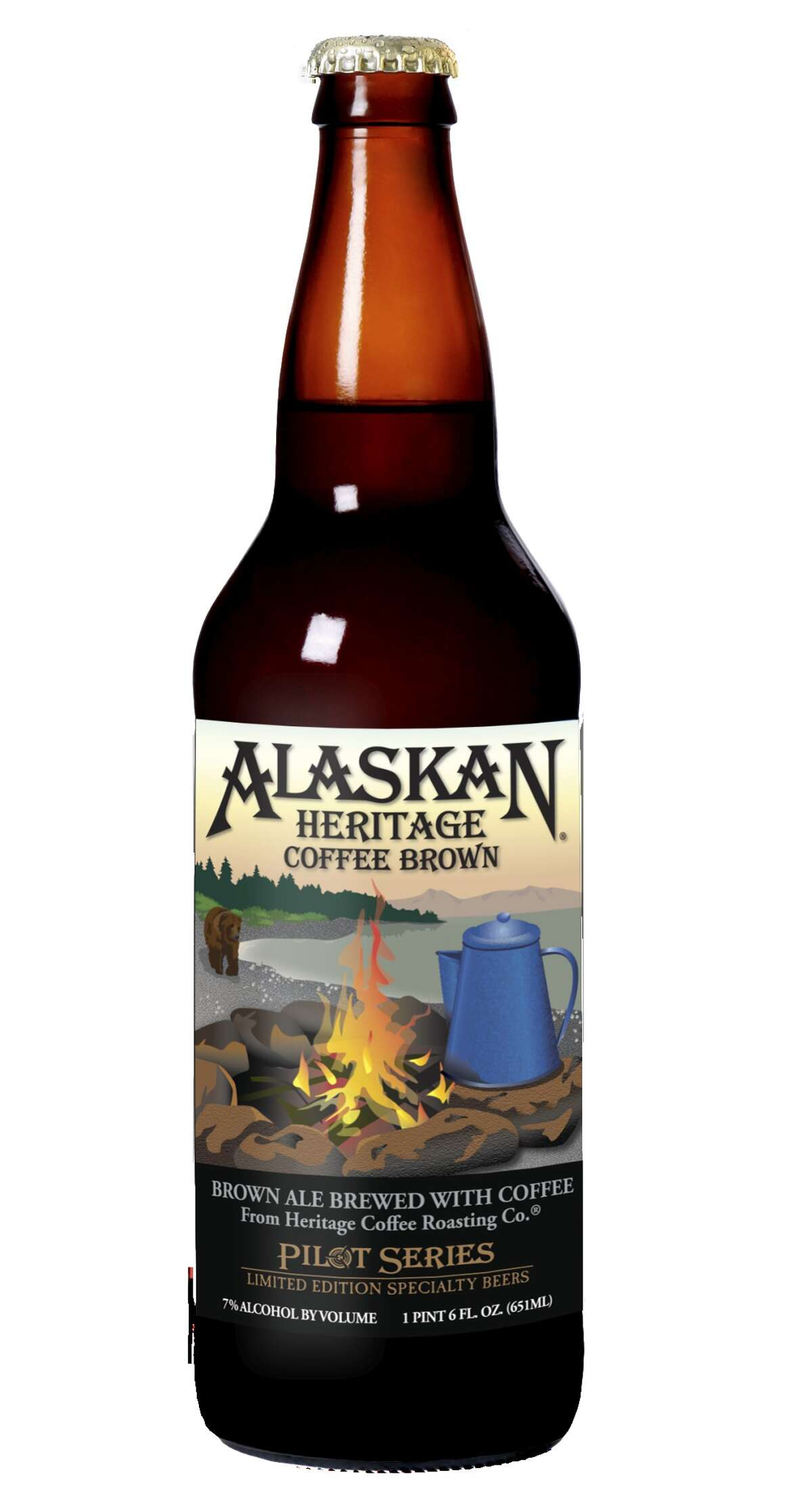 Alaskan Brewing Co.'s Coffee Brown Ale, part of its fall 2015 Pilot Series.