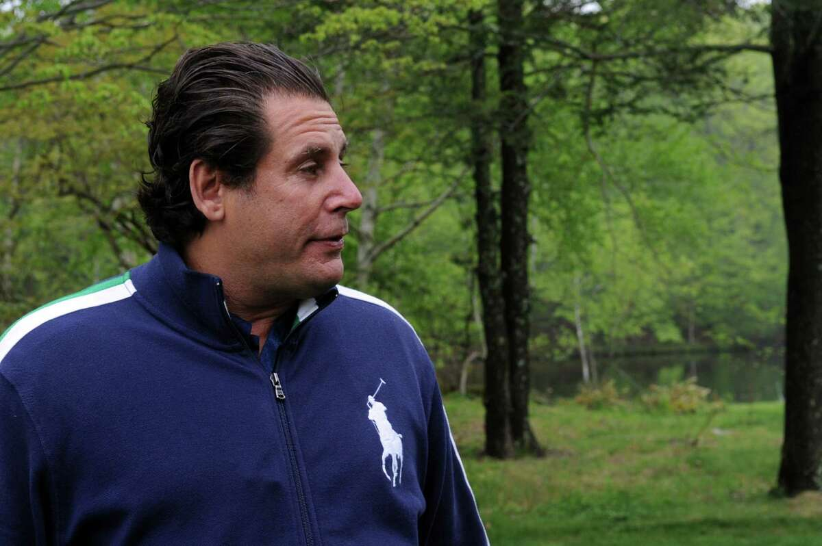 Leandro Rizzuto Jr., see;n here on his land in North Stamford in 2012.