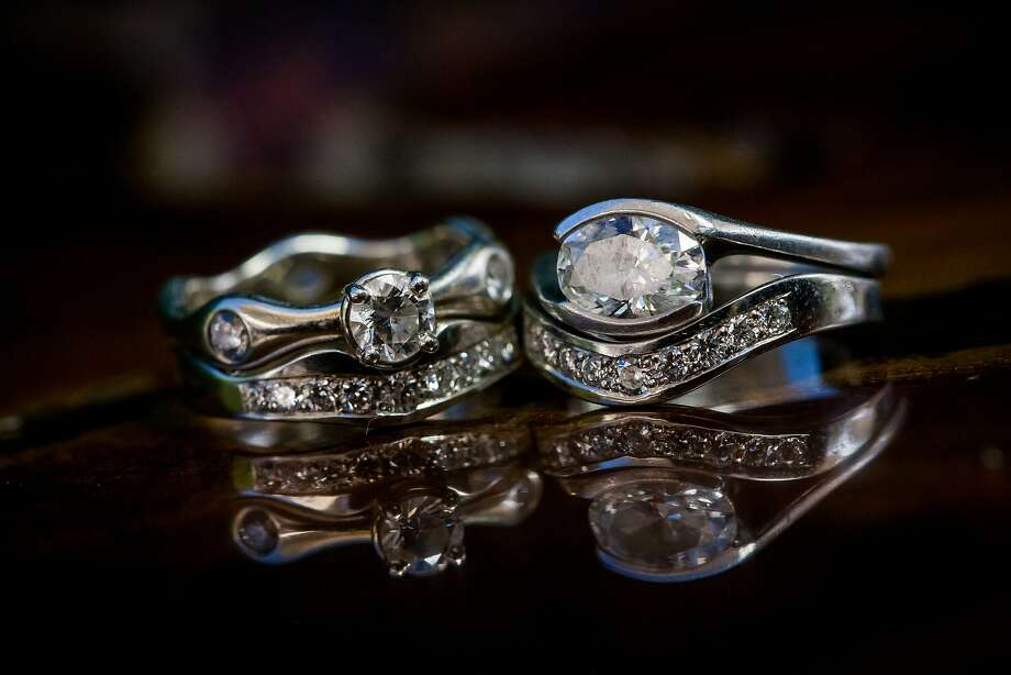 The brides' rings. Photo: Christophe Genty Photography