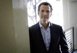California Lt. Governor Gavin Newsom at Founders Den in July.