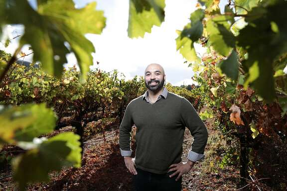 Winemaker and owner of Bodkin Wines Christopher Christensen poses for a portrait at Sand Bend Vineyards in Upper Lake, California, Monday, November 2, 2015. Ramin Rahimian/Special to The Chronicle