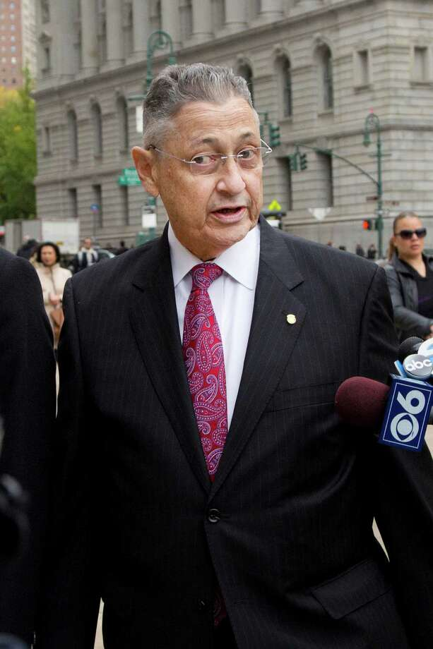 Former New York Assembly Speaker Sheldon Silver arrives for jury selection in his trial, Monday, Nov. 2, 2015 in New York. The consummate operator who influenced nearly every major legislative decision over more than two decades, is on trial accused of taking nearly $4 million in payoffs and kickbacks characterized as attorney referral fees. (AP Photo/Mark Lennihan) ORG XMIT: NYML101 Photo: Mark Lennihan / AP