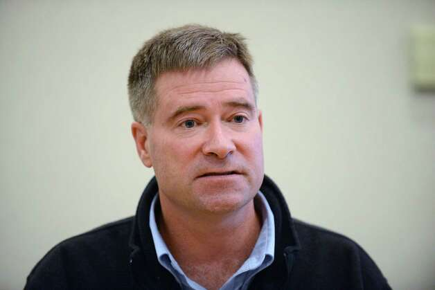 U.S. Rep. Chris Gibson speaks during a Times Union editorial board meeting Tuesday Oct. 21, 2014, in Colonie, N.Y. (Will Waldron/Times Union) ORG XMIT: MER2014102120263053 Photo: WW / 10028912A