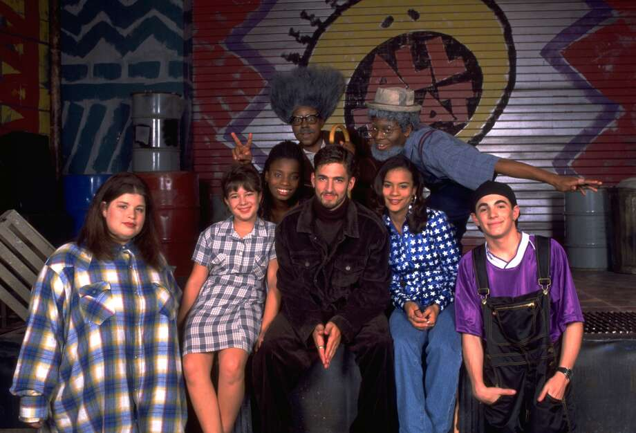 Lori Beth Denberg,  Katrina Johnson, Angelique Bates, Jon B. Kenan Thompson, Kel Mitchell, Alicia Reyes, and Josh Server  in ALL THAT gallery photos on Nickelodeon ©2011 Nickelodeon.  All rights Reserved