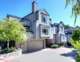 65A Lovell Ave. in Mill Valley is a remodeled condo a couple of blocks from downtown Mill Valley.