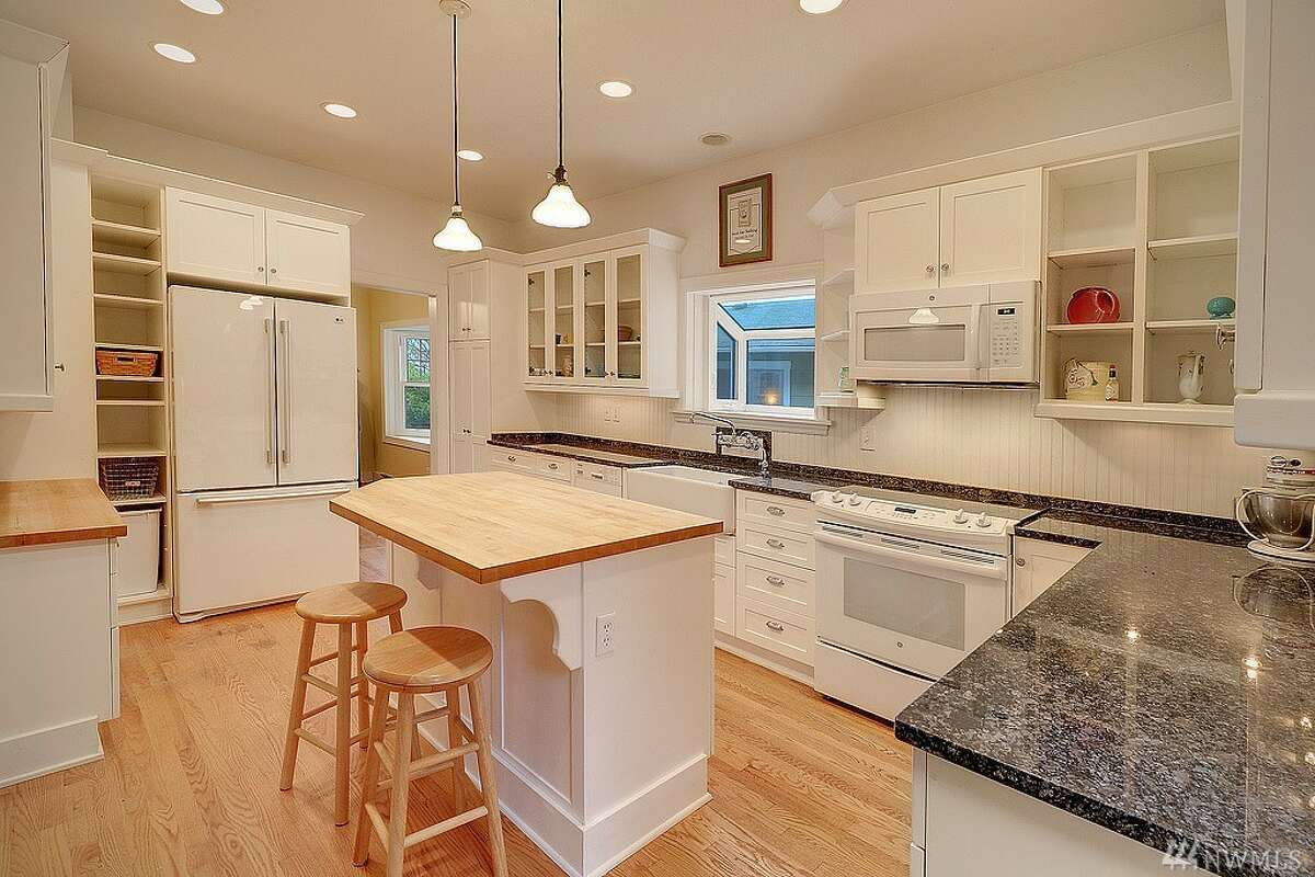 The kitchen in 3723 Meridian Ave. N.