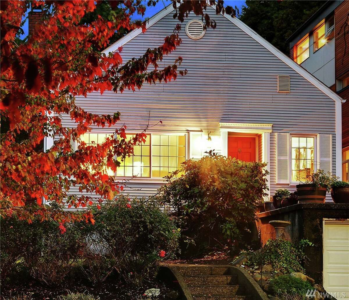 The first home,3723 Meridian Ave. N., is listed for $599,950. The two bedroom, one bathroom home is a 1912 Craftsman bungalow within minutes from Gas Works Park, the University of Washington and the Burke-Gilman Trail. You can see the full listing here.