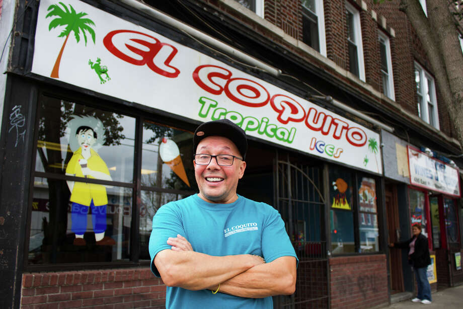 Eddy Reyes, owner of El Coquito on East Main Street in Bridgeport, is building a new restaurant next door to replace his storefront business with help from the state Department of Economic and Community Development's Minority Business Initiative. Photo: / Contributed Photo