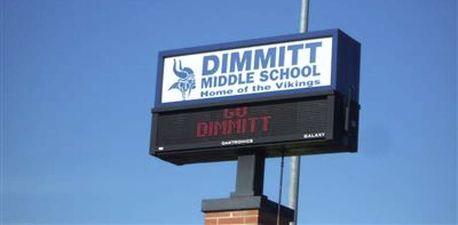 Dimmitt Middle School, pictured in a King County Assessor's Office photo.