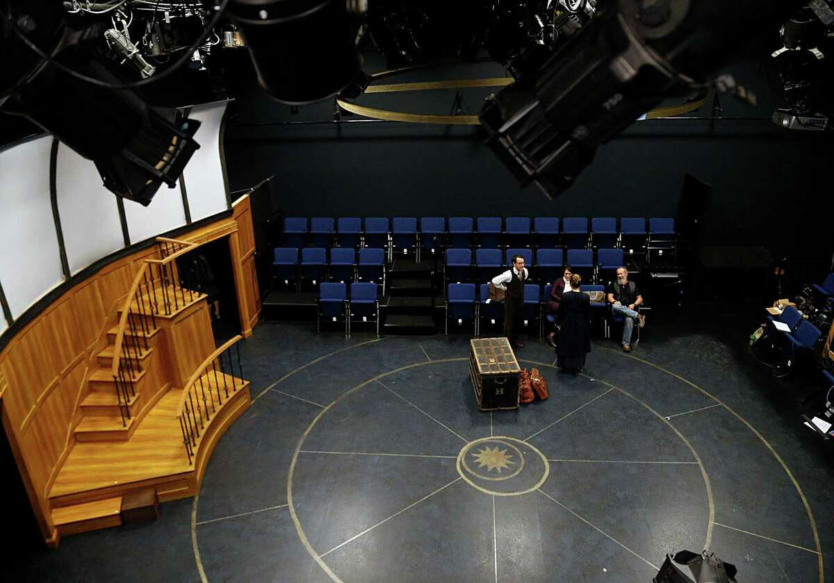 A view from the control room of the stage at the recently renovated Main Street Theater Thursday, Oct. 29, 2015, in Houston. ( James Nielsen / Houston Chronicle )