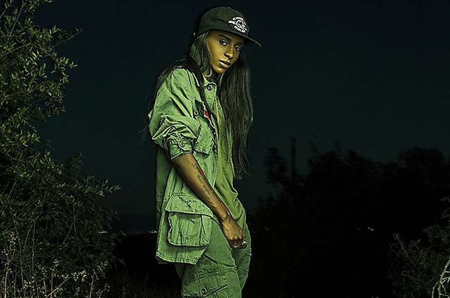 Angel Haze is set to play Venue in Oakland on Saturday, Nov. 7, 2015. Photo: Angel Haze