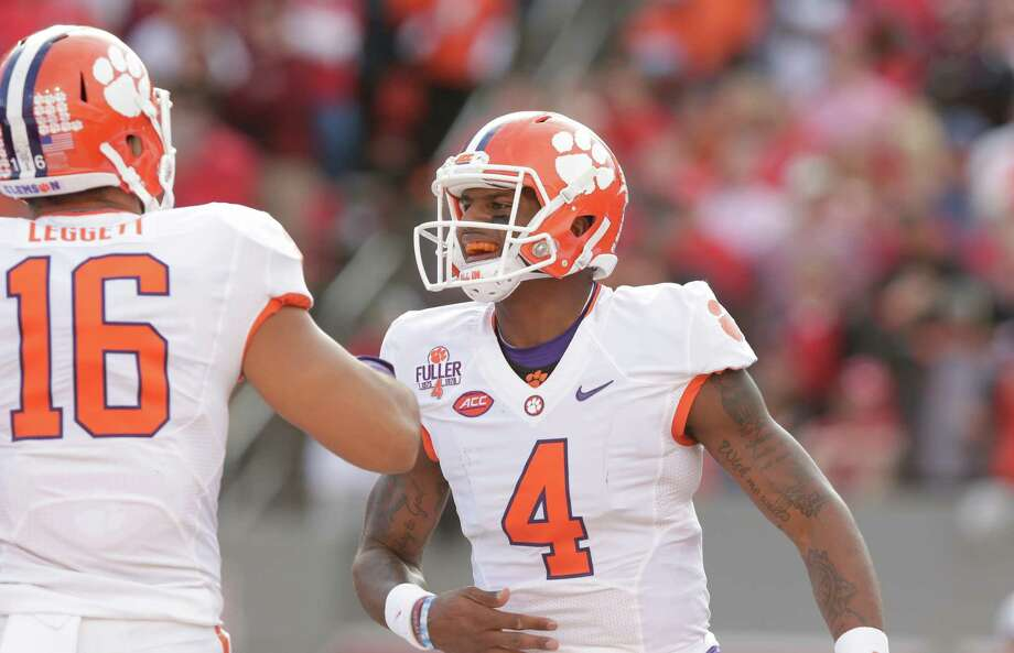 No. 1: Clemson (8-0) Photo: Gerry Broome, Associated Press / AP