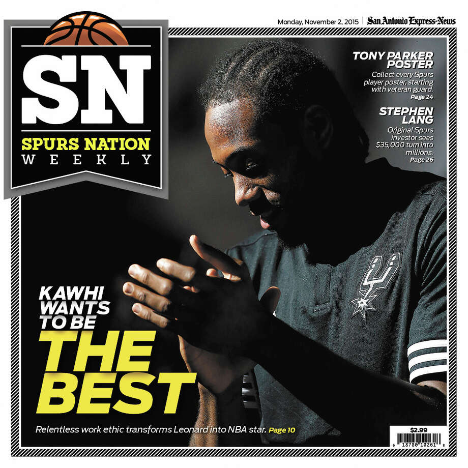 Spurs cover for Week 1 of Spur Nation magazine.