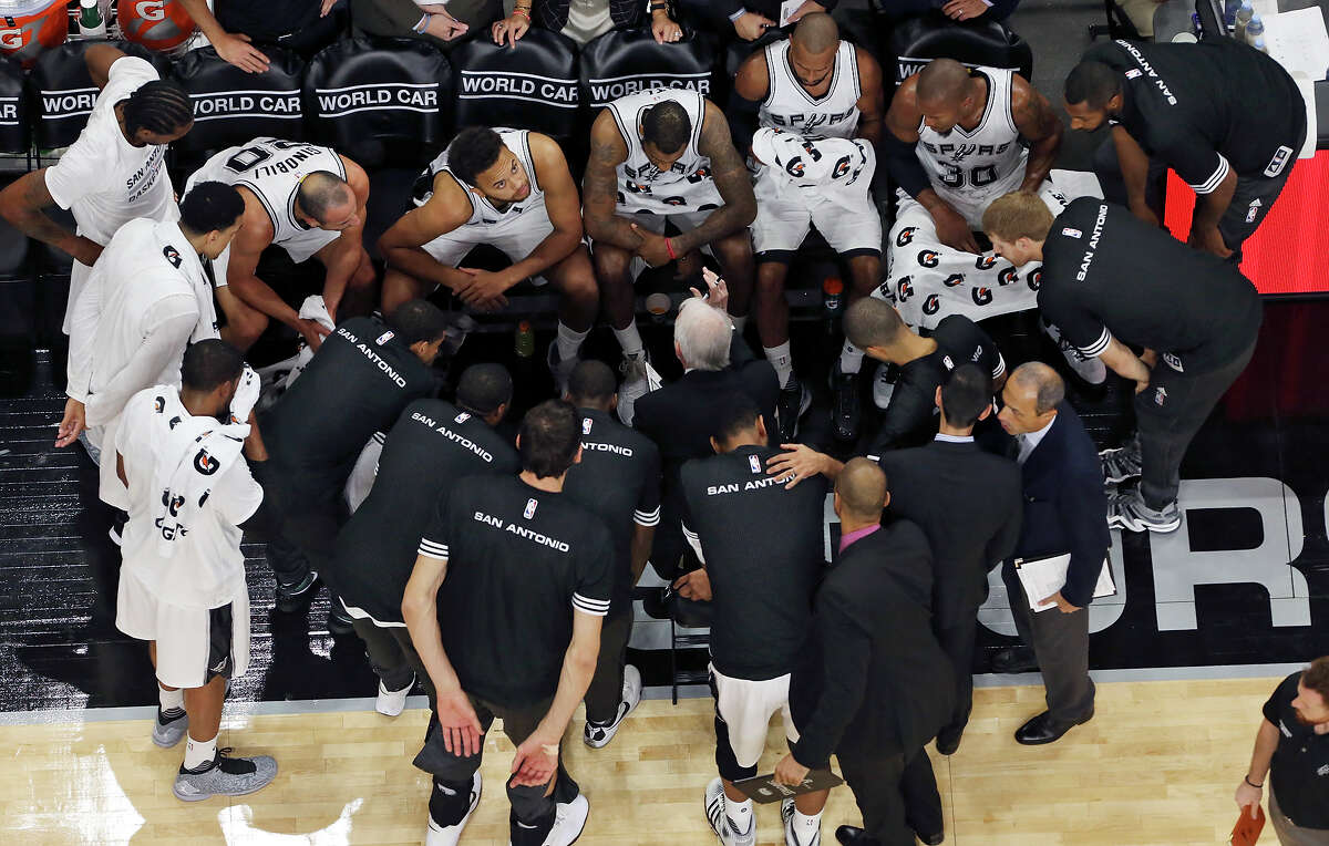 1. The Spurs play