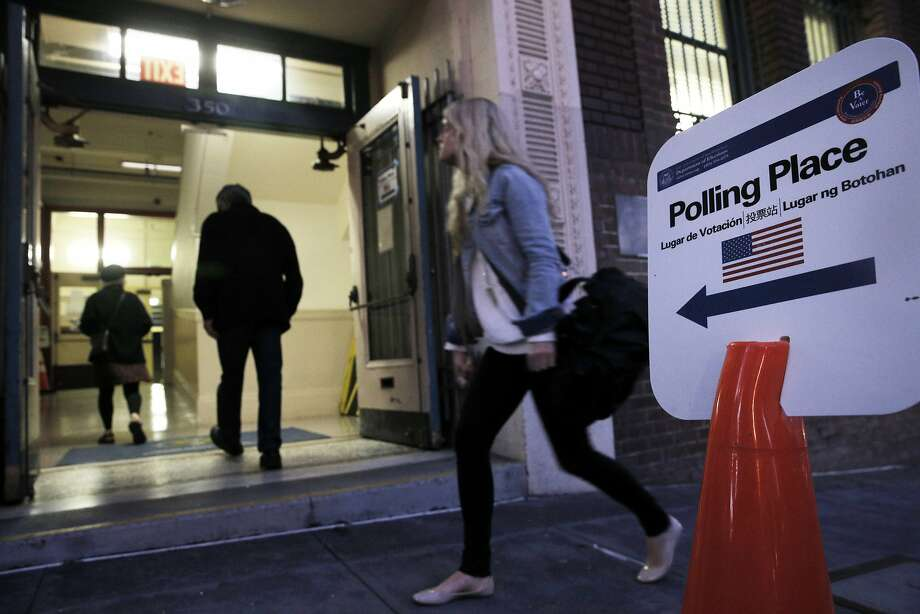 Why in the world don't we make it easier for citizens to exercise their right to vote? Photo: Carlos Avila Gonzalez, The Chronicle