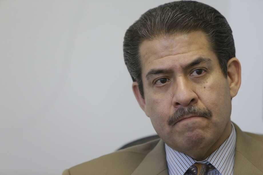 Adrián García was sheriff of Harris County. Photo: Melissa Phillip, Houston Chronicle