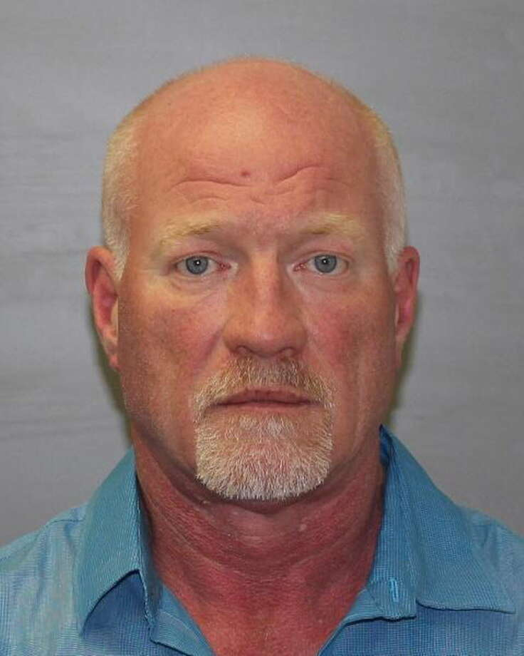 Gene E. Palmer, 57, of Dannemora is charged with felony counts of promotion of prison contraband and evidence tampering. Arraigned on the charges Wednesday night, Palmer is due back in court on Thursday. He was arrested in connection with the escape of two prisoners, Richard Matt, 49, and David Sweat, 35. (State Police)