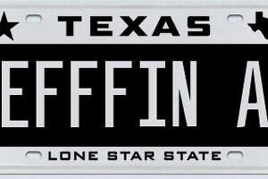 Here are the license plates Texas DMV rejected in October 2015 - Photo