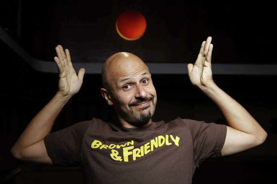 Comedian Maz Jobrani will perform this weekend at the Improv. Photo: Damian Dovarganes, STF / San Antonio Express-News