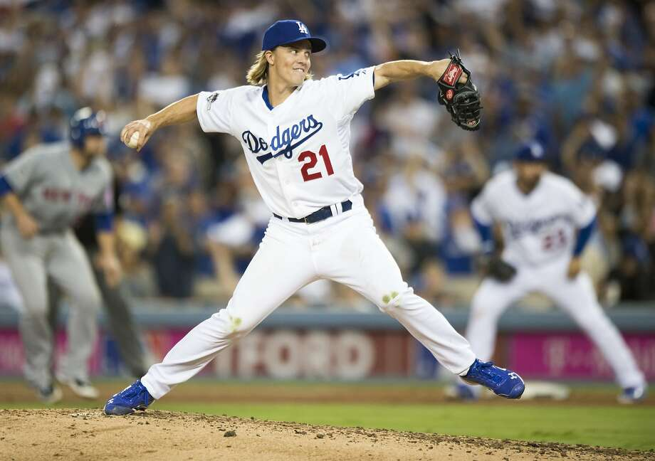 Zack Greinke, who could win this year's Cy Young Award in the National League, is a new free agent. Photo: Michael Goulding, Associated Press