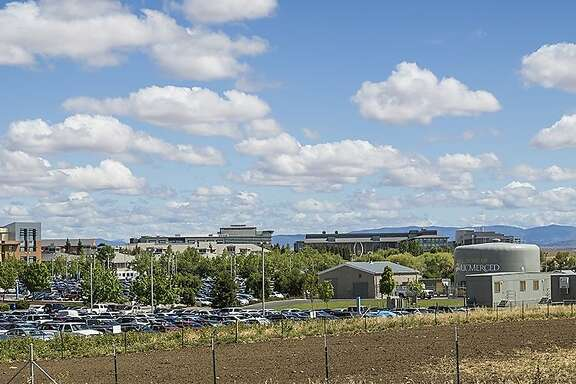 Five people suffered stab wounds Wednesday morning on the campus of UC Merced and when they were attack by a knife-wielding student, who was shot to death by campus police, officials said.