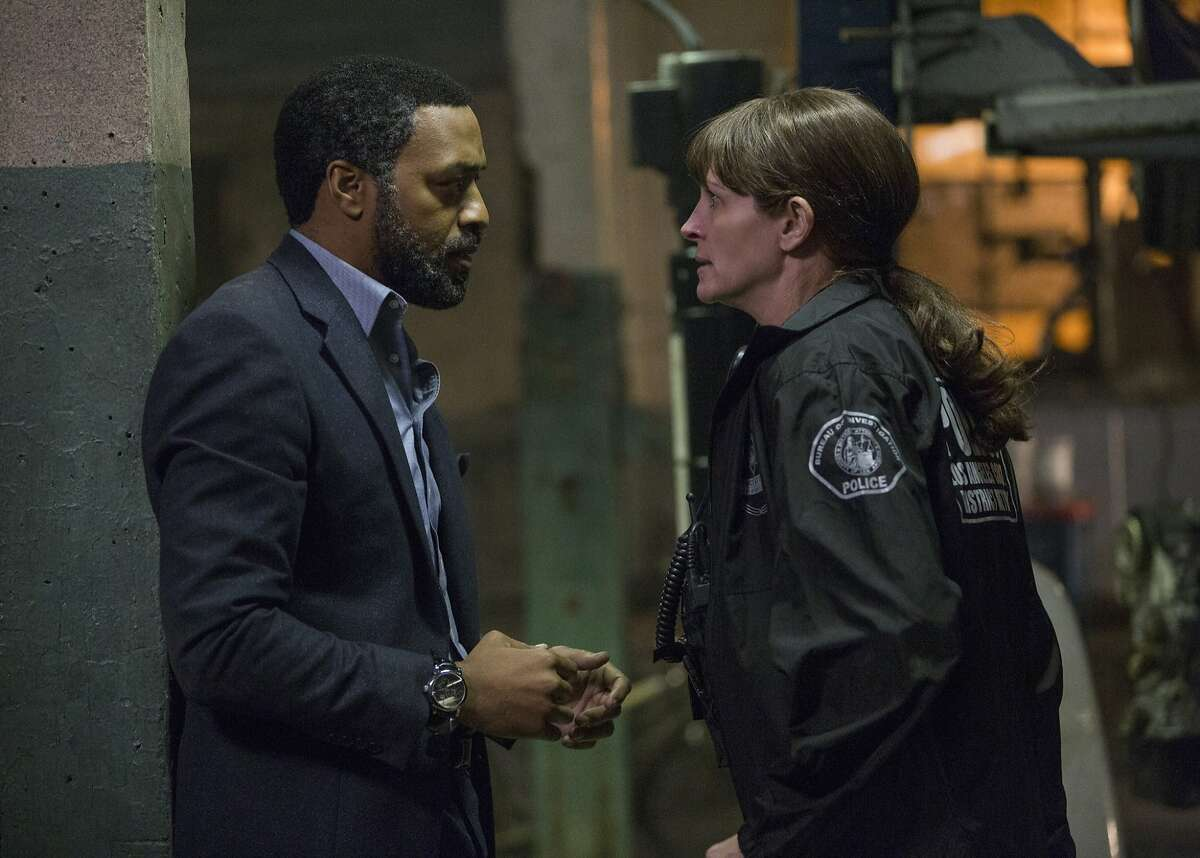 """Chiwetel Ejiofor and Julia Roberts star in """"Secret in Their Eyes."""""""
