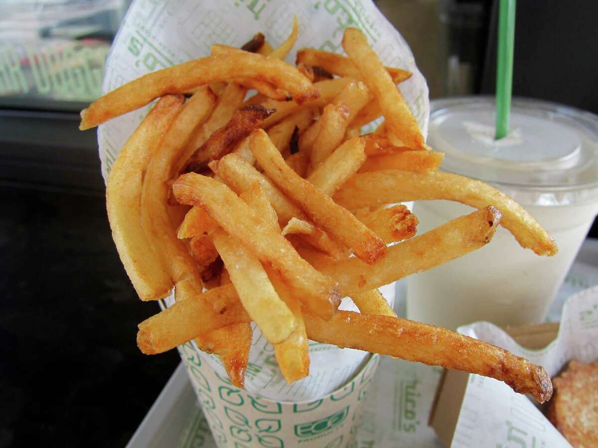 French fries at Rico's MNN in Midtown Park.