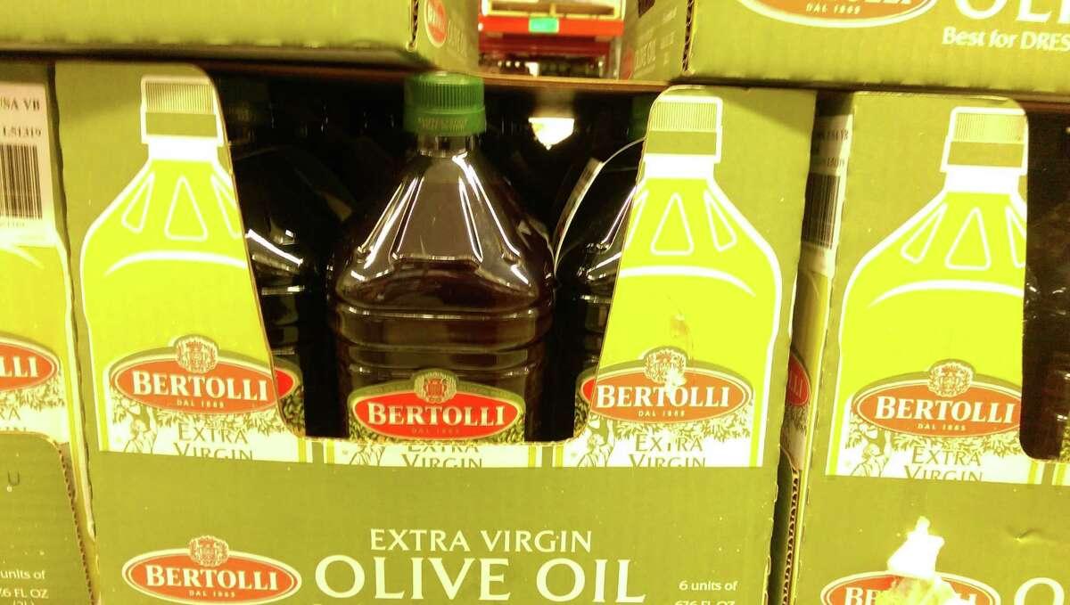 Sam's Club 2-liter jug of Bertolli extra virgin olive oil: $14.48Winner: Costco