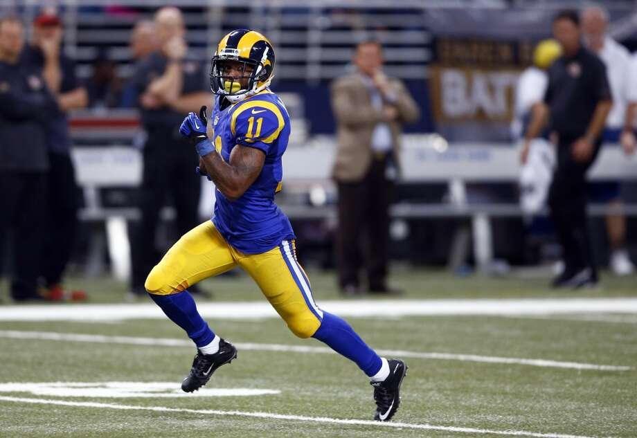 32. Tavon Austin, WR, St. LouisThey rely heavily on the running game, so he's not utilized as much as they envisioned when they drafted him in the first round, but he's still got big-play ability. Photo: Billy Hurst, Associated Press