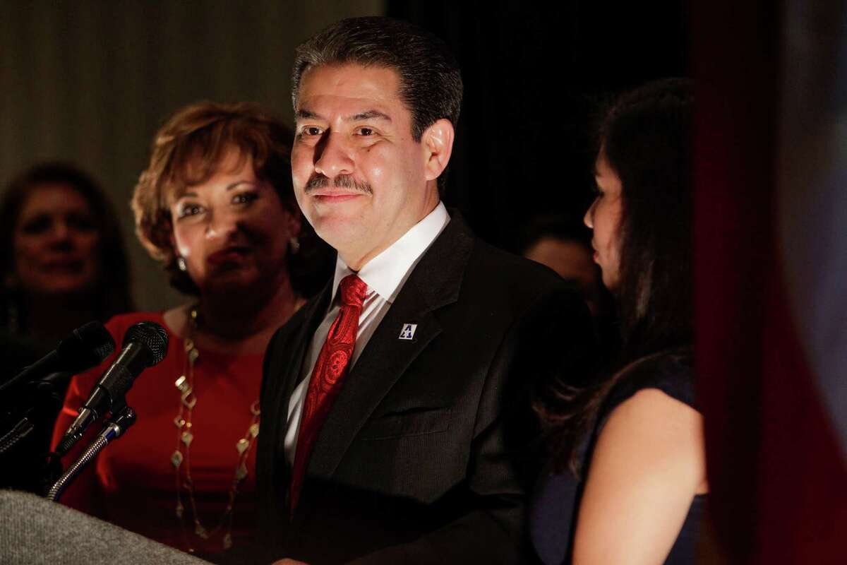 Adrian Garcia finished in third place on election night.